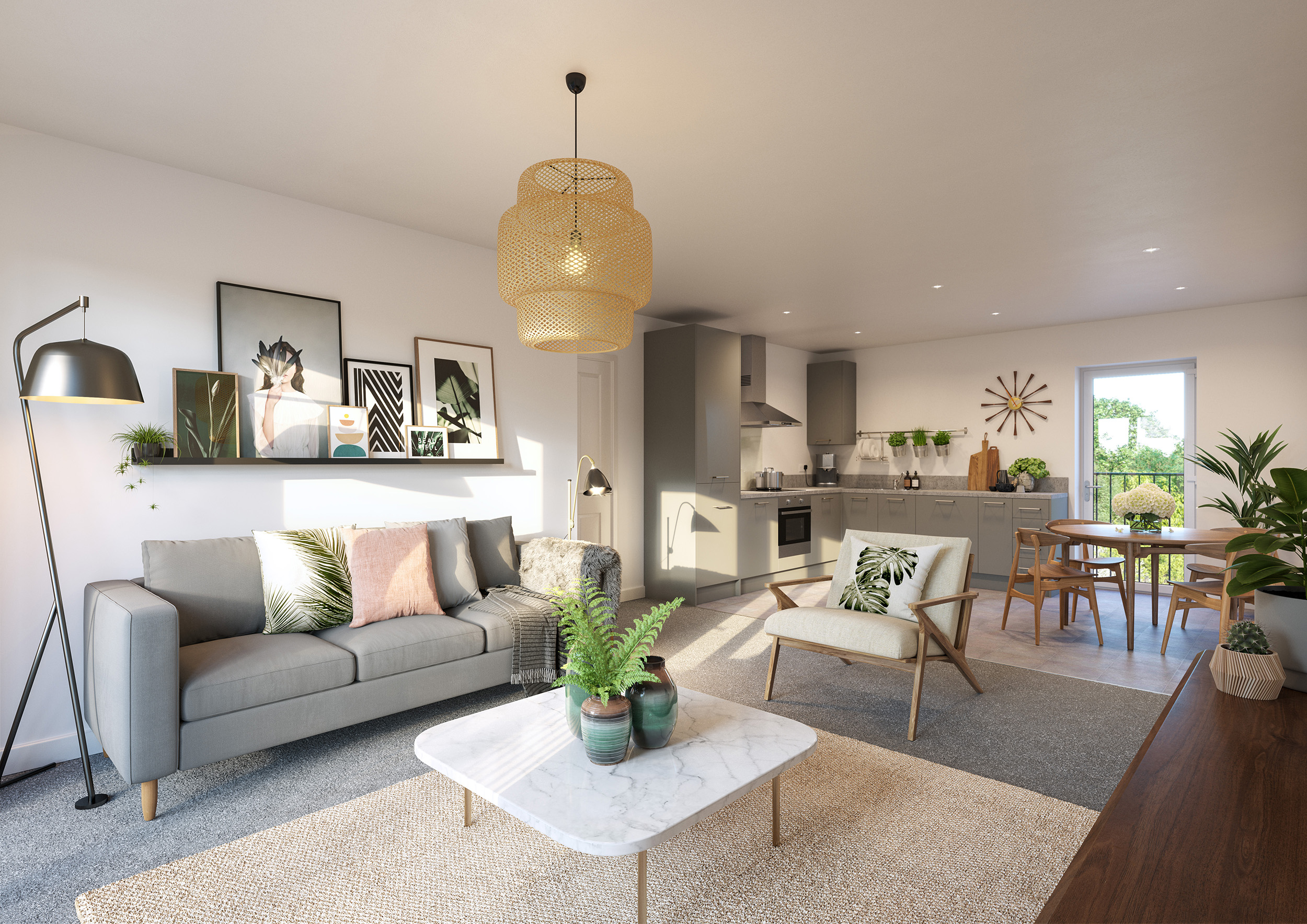 Beautiful 2 bedroom apartments available now at Ebbsfleet Cross, from just £102,000 for 40% equity share.