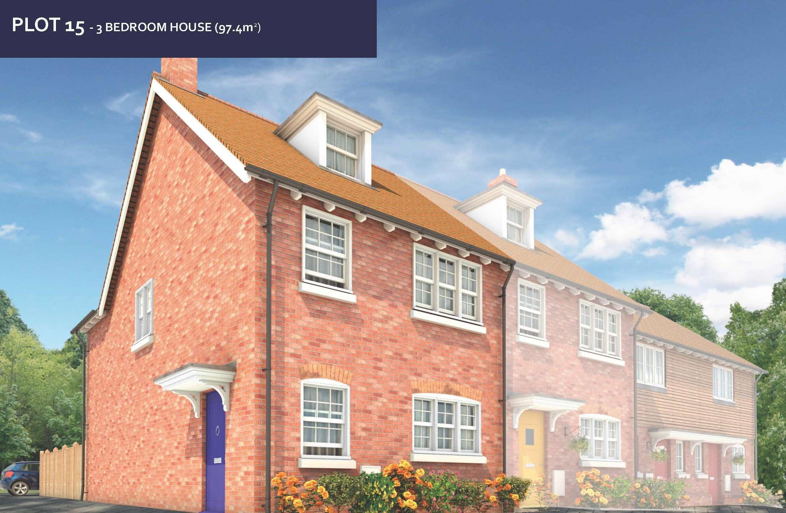 Golding Places House for sale Plot 15 Tolhurst Way 3 beds