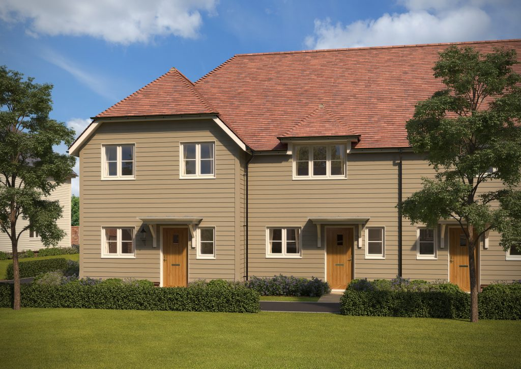 Golding Places Shared Ownership 3 beds House Loose Brambledown, Cripple Street Plot 18 & 21