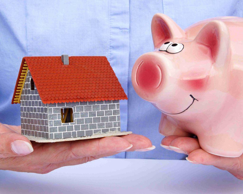 House Piggy Bank Money Saving
