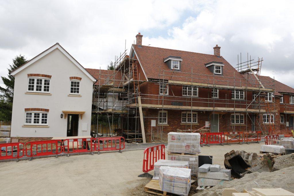 Tolhurst Way Construction